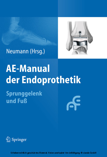 AE-Manual der Endoprothetik - Blick ins Buch