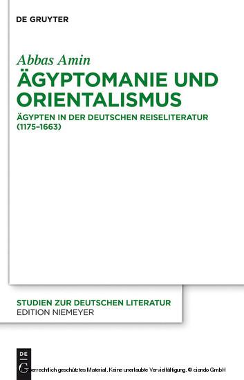 Ägyptomanie und Orientalismus - Blick ins Buch