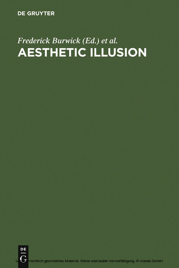 Aesthetic Illusion - Blick ins Buch