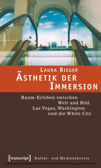 Ästhetik der Immersion - Blick ins Buch