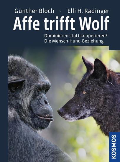 Affe trifft Wolf - Blick ins Buch