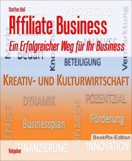 Affiliate Business - Blick ins Buch