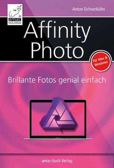 Affinity Photo - Blick ins Buch