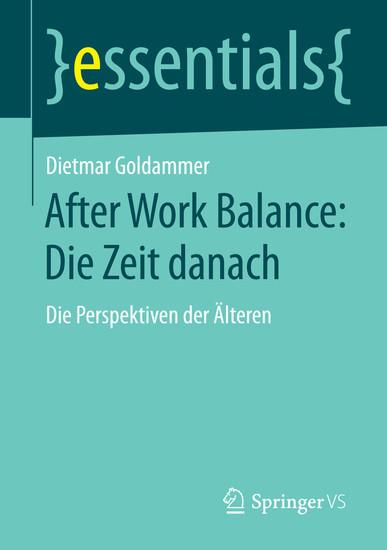 After Work Balance: Die Zeit danach - Blick ins Buch