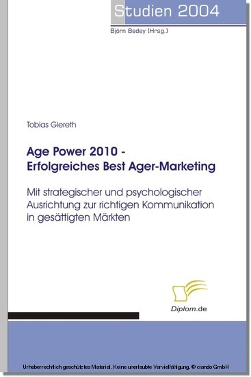 Age Power 2010 - Erfolgreiches Best Ager-Marketing - Blick ins Buch