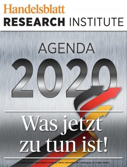 Agenda 2020 - Was jetzt zu tun ist! - Blick ins Buch