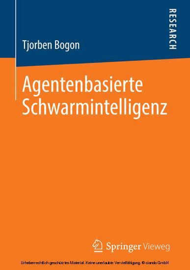 Agentenbasierte Schwarmintelligenz - Blick ins Buch