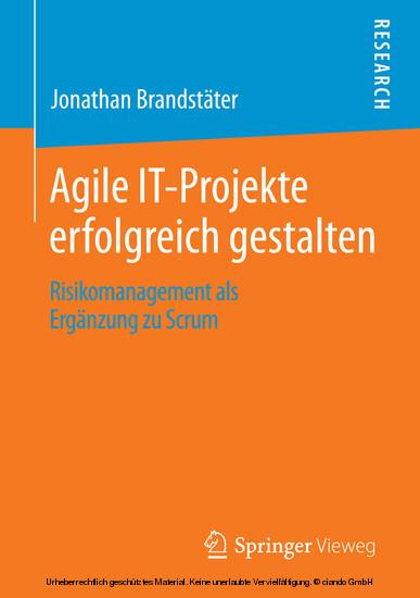 Agile IT-Projekte erfolgreich gestalten - Blick ins Buch