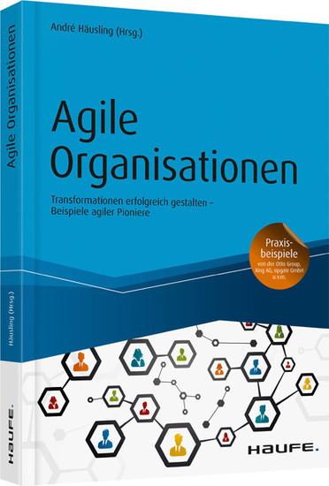 Agile Organisationen - Blick ins Buch