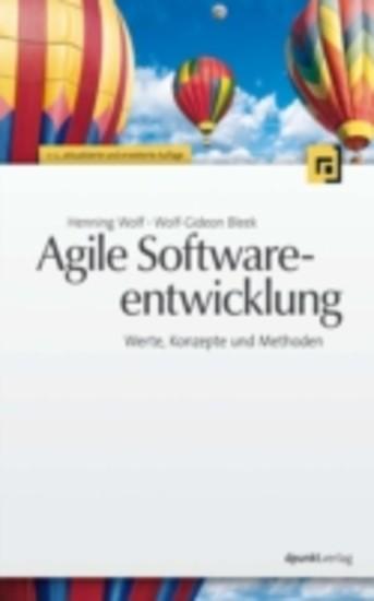 Agile Softwareentwicklung - Blick ins Buch
