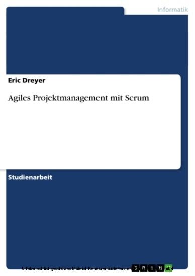 Agiles Projektmanagement mit Scrum - Blick ins Buch