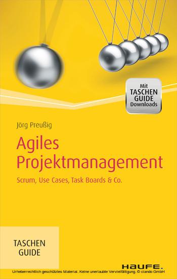 Agiles Projektmanagement - Blick ins Buch