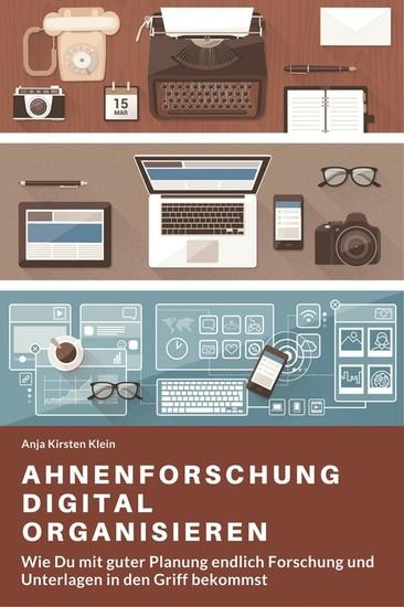Ahnenforschung digital organisieren - Blick ins Buch