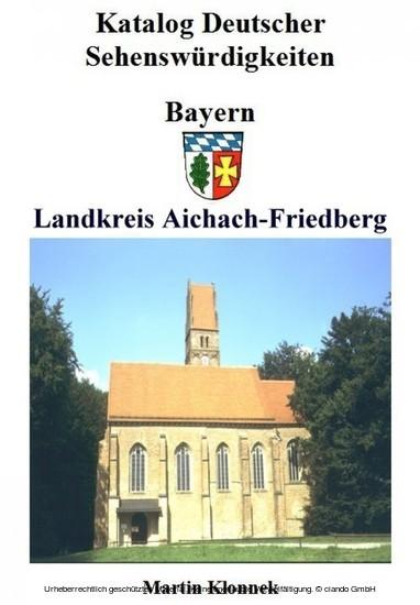 Aichach-Friedberg - Blick ins Buch