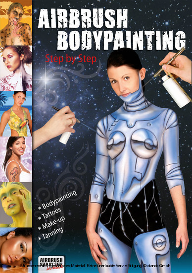 Airbrush Bodypainting Step by Step - Blick ins Buch