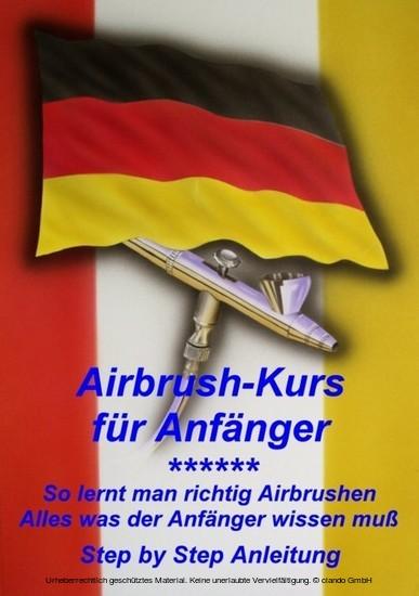 Airbrushkurs für Anfänger - Blick ins Buch