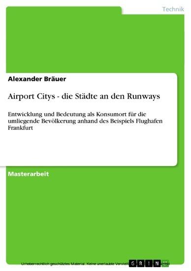 Airport Citys - die Städte an den Runways - Blick ins Buch