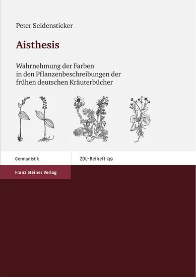Aisthesis - Blick ins Buch