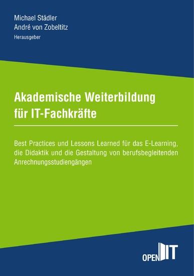 Akademische Weiterbildung für IT-Fachkräfte - Blick ins Buch