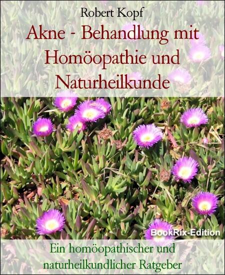 Akne - Behandlung mit Homöopathie und Naturheilkunde - Blick ins Buch