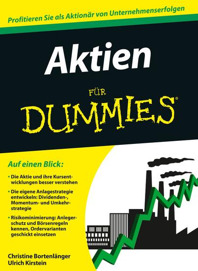 Aktien für Dummies - Blick ins Buch
