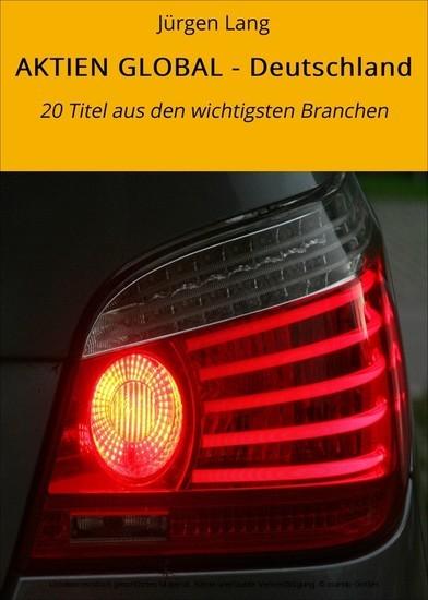 AKTIEN GLOBAL - Deutschland - Blick ins Buch