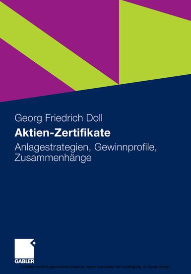 Aktien-Zertifikate - Blick ins Buch