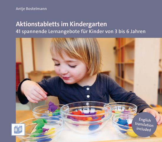 Aktionstabletts im Kindergarten - Blick ins Buch