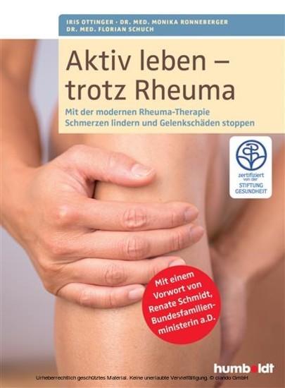 Aktiv leben - trotz Rheuma - Blick ins Buch