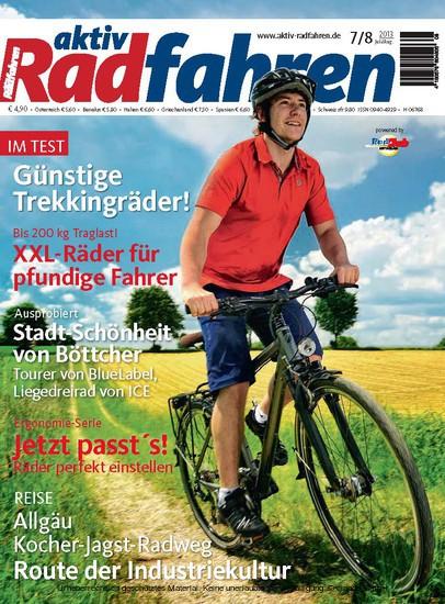 aktiv Radfahren 8/2013 - Blick ins Buch