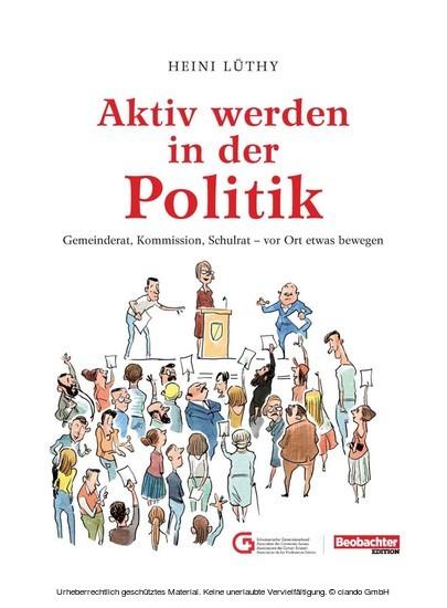 Aktiv werden in der Politik - Blick ins Buch