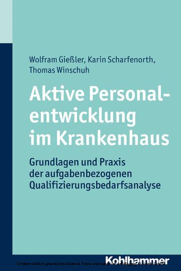 Aktive Personalentwicklung im Krankenhaus - Blick ins Buch