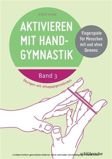 Aktivieren mit Handgymnastik - Blick ins Buch
