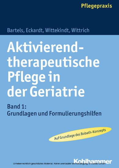 Aktivierend-therapeutische Pflege in der Geriatrie - Blick ins Buch