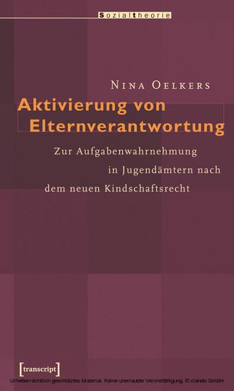 Aktivierung von Elternverantwortung - Blick ins Buch