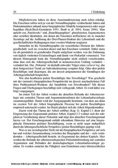 Aktivisten der Normalbiographie - Blick ins Buch