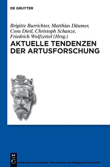 Aktuelle Tendenzen der Artusforschung - Blick ins Buch
