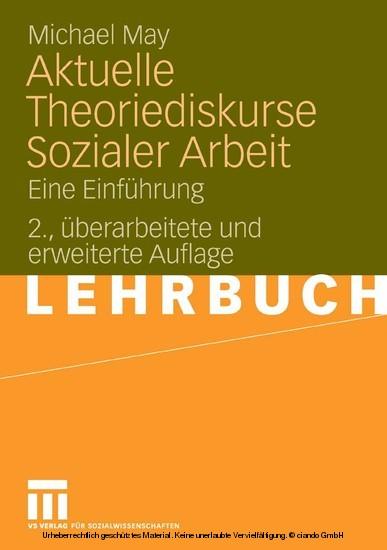 Aktuelle Theoriediskurse Sozialer Arbeit - Blick ins Buch