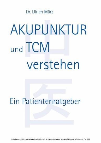 Akupunktur und TCM verstehen - Blick ins Buch