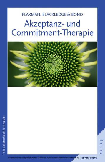 Akzeptanz- und Commitment-Therapie - Blick ins Buch