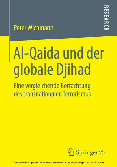 Al-Qaida und der globale Djihad - Blick ins Buch