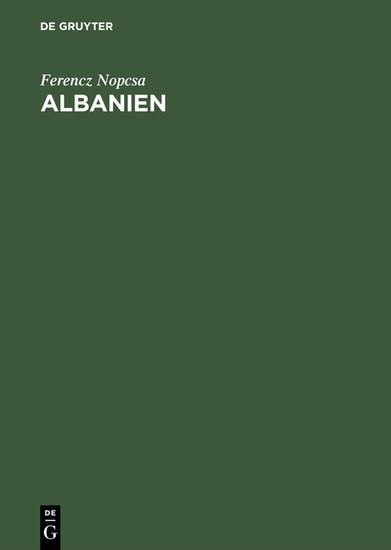 Albanien - Blick ins Buch