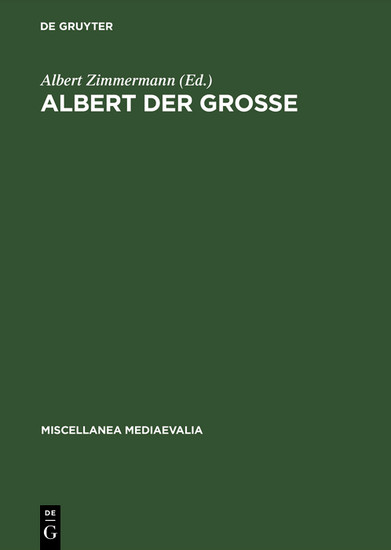 Albert der Große - Blick ins Buch