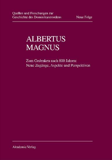 Albertus Magnus - Blick ins Buch