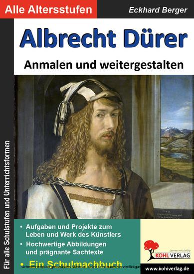 Albrecht Dürer ... anmalen und weitergestalten - Blick ins Buch