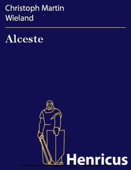 Alceste - Blick ins Buch