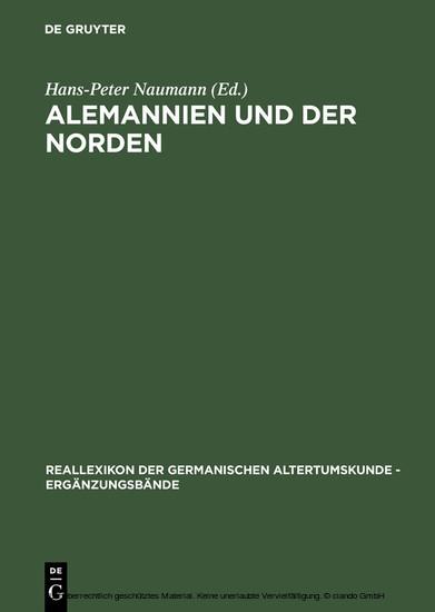 Alemannien und der Norden - Blick ins Buch