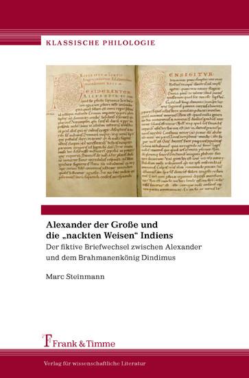 Alexander der Große und die 'nackten Weisen' Indiens - Blick ins Buch