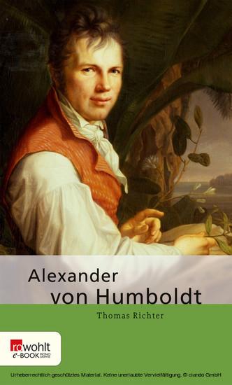 Alexander von Humboldt - Blick ins Buch