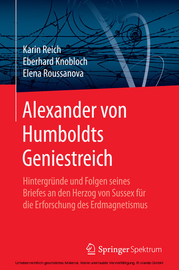 Alexander von Humboldts Geniestreich - Blick ins Buch